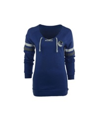 Antigua Women's Vancouver Canucks Foxy Sweatshirt Royalblue