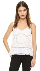Zadig And Voltaire Camil Camisole Top Blanc