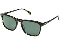 Raen Wiley Brindle Tortoise Polarized Fashion Sunglasses Black