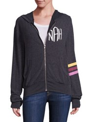 Wildfox Couture Nah Sports Hoodie Clean Black