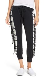 Amuse Society Women's 'Cascade' Crop Jogger Pants Black