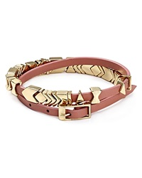 House Of Harlow 1960 Aztec Wrap Bracelet Blush