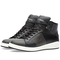 Alexander Mcqueen Studded High Top Sneaker Black