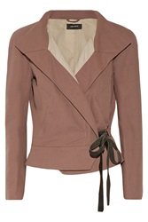 Isabel Marant Debra Cotton Blend Jacket Pink
