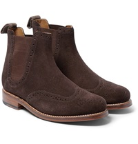 Jacob Suede Chelsea Boots