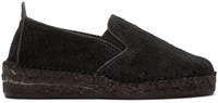 Prism Black Calf Hair Espadrilles