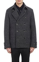 Barena Venezia Donegal Effect Peacoat Grey Size 54 Eu