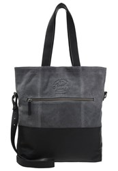 Superdry The Anneka Tote Bag Black Grey
