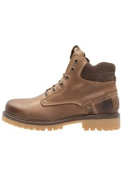 Wrangler Yuma Laceup Boots Taupe Brown