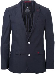 Loveless Fitted Blazer Blue