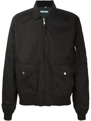 321 Zip Flight Jacket Black