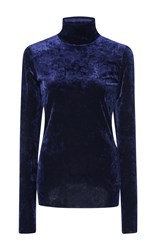 Tibi Slim Turtle Neck Navy