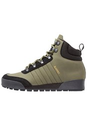Adidas Originals Laceup Boots Olive Cargo Clearblack Clearbrown