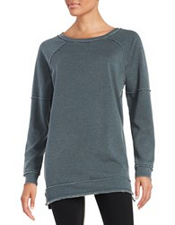 Kensie Distressed Sweatshirt