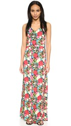 Wildfox Couture Flower Peasant Dress