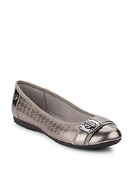 Anne Klein Sport If Only Houndstooth Flats Pewter