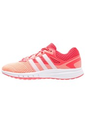 Adidas Performance Galaxy 2 Cushioned Running Shoes Sun Glow White Shock Red Coral