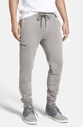 Jeremiah 'Frazier' French Terry Jogger Pants Silver