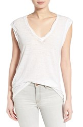 Women's Pam And Gela V Neck Muscle Tee
