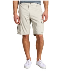 Dockers Core Cargo Short Porcelain Khaki Men's Shorts Gray