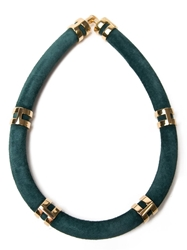 Lizzie Fortunato Jewels 'Double Take' Necklace Green