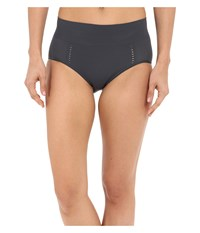Spanx Loungerie Brief Steel Women's Underwear Silver