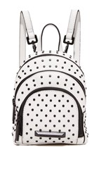 Kendall Kylie Sloane Studded Nano Backpack White