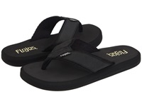 Flojos Cole Ii Black Leather Men's Sandals