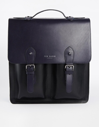Ted Baker Satchel Backpack Blue
