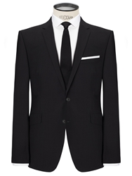 Kin By John Lewis Slim Fit Bale Plainweave Suit Jacket Black