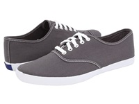Keds Champion Cvo Steel Grey White Men's Lace Up Casual Shoes Gray