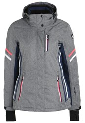 Killtec Adelle Ski Jacket Graumelange Mottled Grey