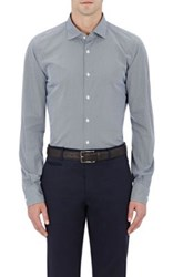 Glanshirt Men's Dotted Poplin Fitted Shirt Red