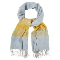 White Stuff Hannah Stripe Mid Weight Scarf Multi