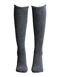 Lemon Wool Blend Knee High Socks Peppercorn