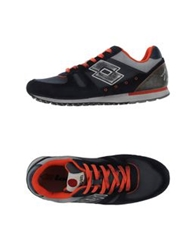 Lotto Leggenda Low Tops And Trainers Dark Blue