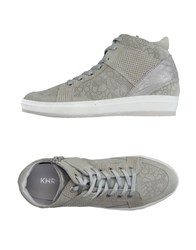 Khrio' Footwear High Tops And Trainers Women Light Grey