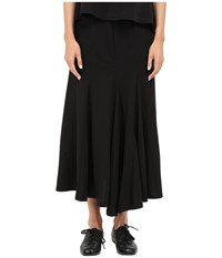 Yohji Yamamoto Pleated Skirt Black Women's Skirt