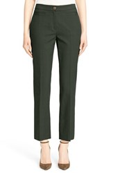 Women's Nordstrom Signature And Caroline Issa Stretch Cotton Bootcut Ankle Pants
