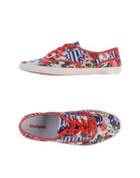 Desigual Low Tops And Trainers Red