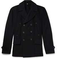 Hardy Amies Cashmere Peacoat Navy