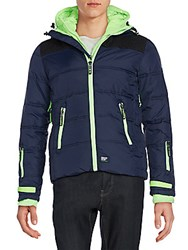 Superdry Polar Elements Jacket Navy