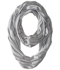 Smartwool Seven Falls Infinity Scarf Light Grey Scarves Gray