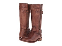Bed Stu Gogo Teak Driftwood Leather Women's Zip Boots Brown