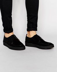Fred Perry X George Cox Creeper Shoes Black