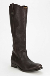 Frye Melissa Slouch Ankle Boot Chocolate