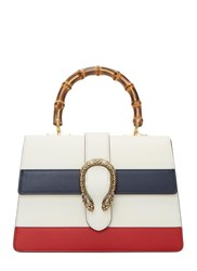 Gucci Dionysus Bamboo Handle Handbag White