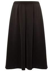 Evans Black Hourglass Midi Skirt