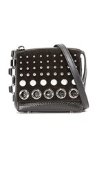 Alexander Wang Attica Flap Marion With Studs Black