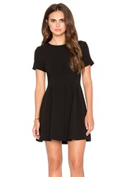 Lucca Couture Short Sleeve Mini Dress Black